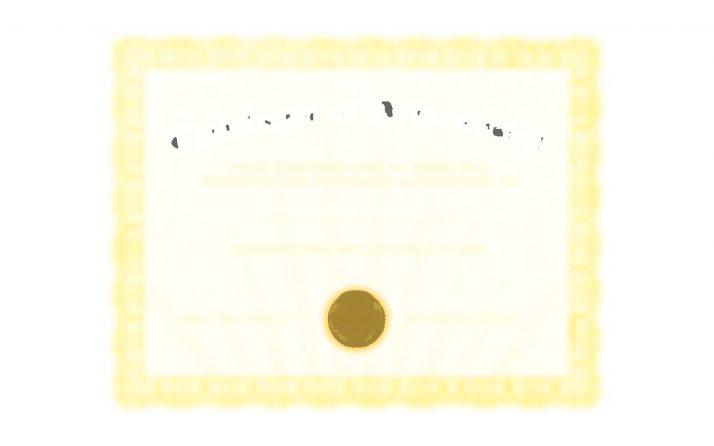 Doe's Certificate